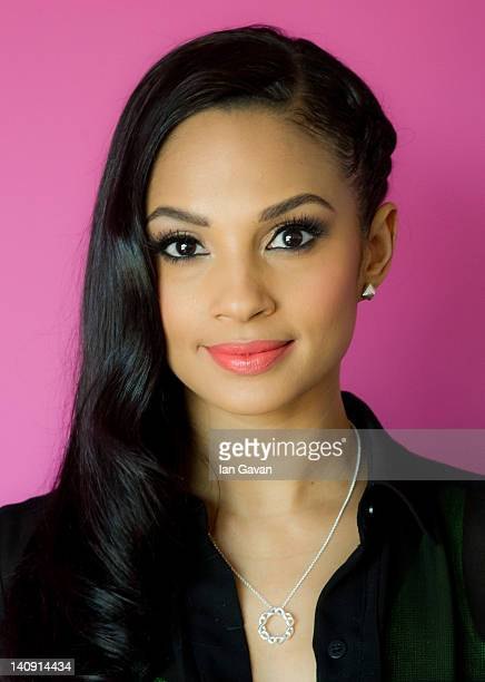 Alesha Dixon visits the National Domestic Violence Helpline to launch Avon's 'Pass It On' campaign to speak out against domestic violence at Refuge...