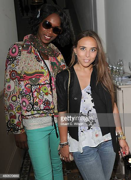 Alesha McKenzie and Chloe Green attend 'Heist' launch London's first 'AntiGallery' showcasing fine art photography from around the world on June 12...