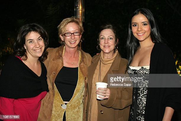 Alesia Weston and Michelle Satter of The Sundance Institute Carrie Frazier and Catalina Sandino Moreno of Maria Full of Grace