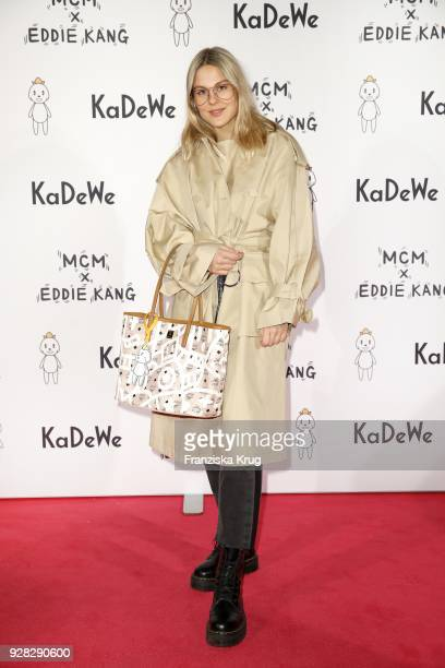 Alessa Winter during the MCM X Eddie Kang launch event at KaDeWe on March 6, 2018 in Berlin, Germany.