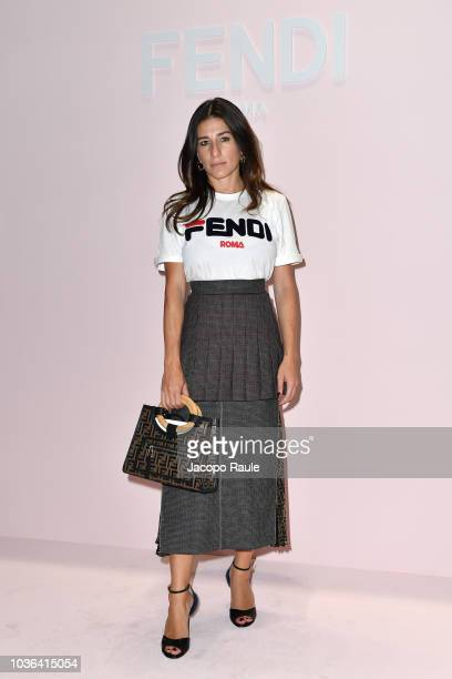 Alessandra Airo attends the Fendi show during Milan Fashion Week Spring/Summer 2019 on September 20 2018 in Milan Italy