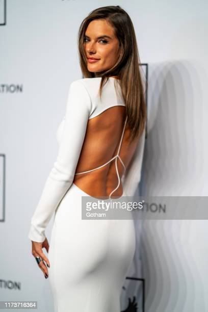 Alessandra Ambrodio attends Mosaic Federation Gala Against Human Slavery at Cipriani 42nd Street on September 10 2019 in New York City