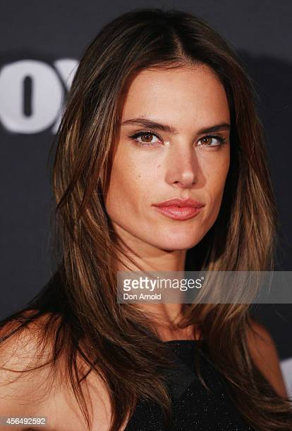 Alessandra Ambrosio arrives at Australia's Next Top Model Elimination Set in Surry Hills on October 2 2014 in Sydney Australia