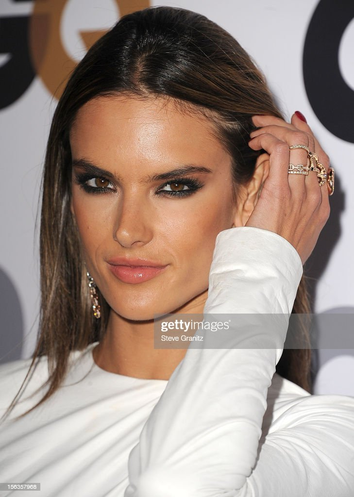 Alessandra Ambrosio arrives at the GQ Men Of The Year Party at Chateau Marmont on November 13, 2012 in Los Angeles, California.