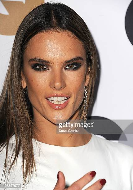 Alessandra Ambrosio arrives at the GQ Men Of The Year Party at Chateau Marmont on November 13 2012 in Los Angeles California