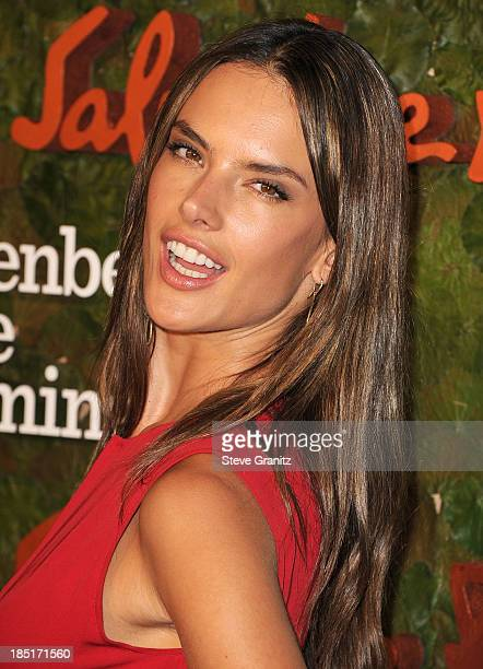 Alessandra Ambrosio arrives at the Wallis Annenberg Center For The Performing Arts Inaugural Gala at Wallis Annenberg Center for the Performing Arts...