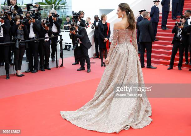 Alessandra Ambrosio at the 'The Wild Pear Tree ' premiere during the 71st Cannes Film Festival at the Palais des Festivals on May 18 2018 in Cannes...