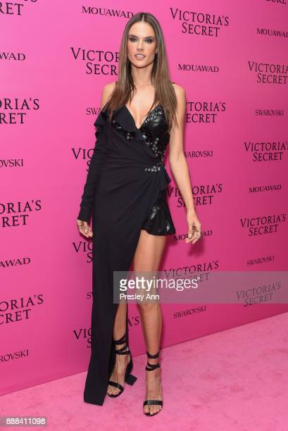 Alessandra Ambrosio attends 2017 Victoria's Secret Fashion Show In Shanghai After Party at MercedesBenz Arena on November 20 2017 in Shanghai China