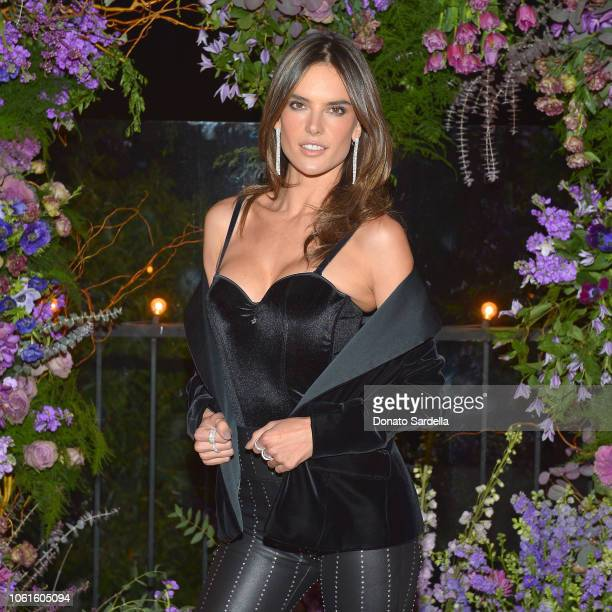 Alessandra Ambrosio attends Alessandra Ambrosio LASCANA Present Fall/Winter 2018 Campaign at Petit Ermitage on November 14 2018 in Hollywood...