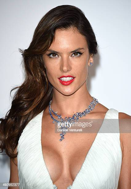 Alessandra Ambrosio attends amfAR's 21st Cinema Against AIDS Gala Presented By WORLDVIEW BOLD FILMS And BVLGARI at Hotel du CapEdenRoc on May 22 2014...