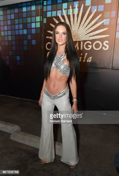 Alessandra Ambrosio attends Casamigos Halloween Party on October 27 2017 in Los Angeles California