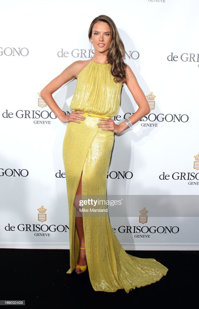 Alessandra Ambrosio attends De Grisogono party during The 66th Annual Cannes Film Festival on May 21, 2013 in Cannes, France.