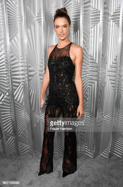 Alessandra Ambrosio attends ELLE's 24th Annual Women in Hollywood Celebration presented by L'Oreal Paris Real Is Rare Real Is A Diamond and CALVIN...