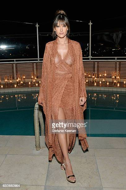 Alessandra Ambrosio attends Harper's BAZAAR celebration of the 150 Most Fashionable Women presented by TUMI in partnership with American Express La...