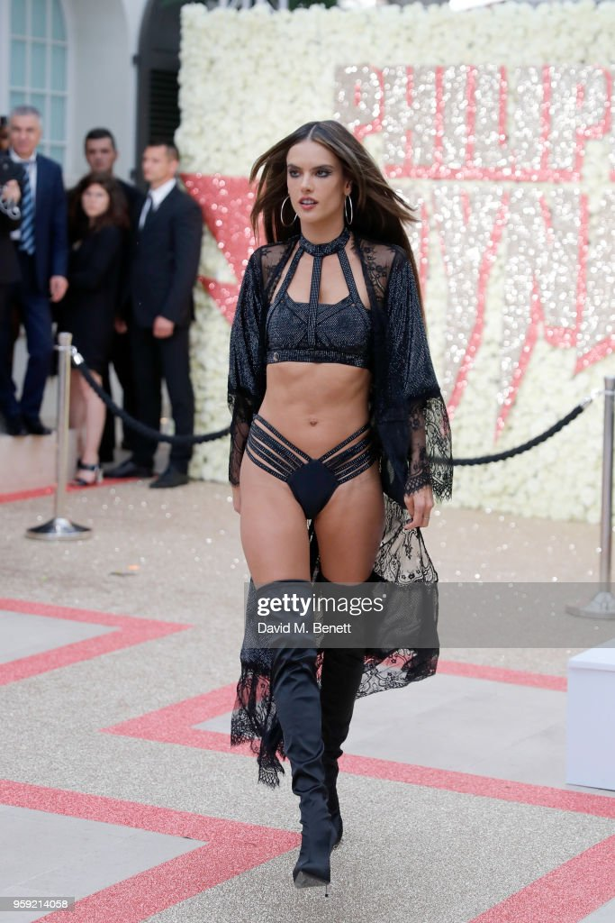 "Philipp Plein ""Dynasty"" Women's & Men's Resort 2019 Show - Front Row - The 71st Annual Cannes Film Festival : News Photo"