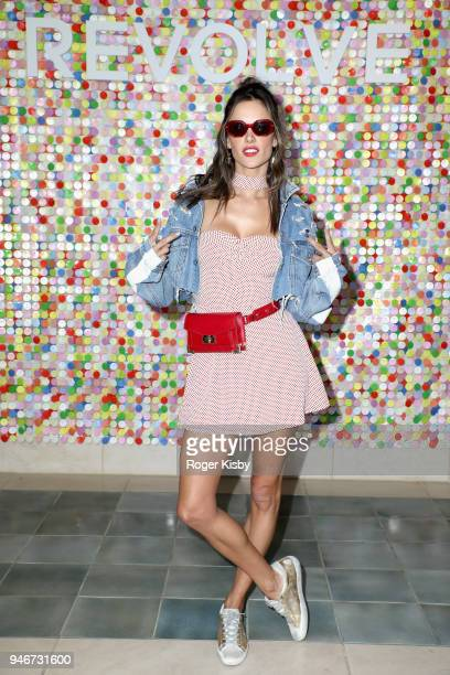 Alessandra Ambrosio attends #REVOLVEfestival Day 2 on April 15 2018 in La Quinta California