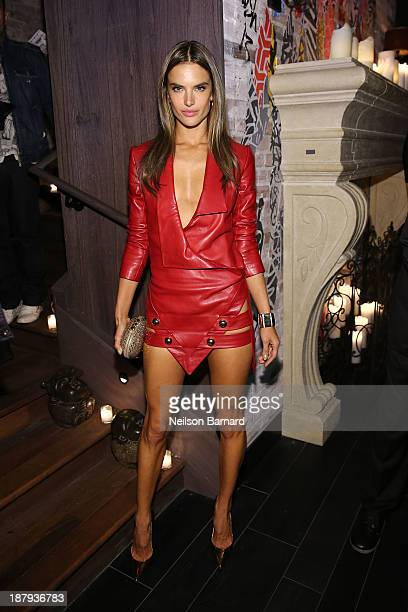 Alessandra Ambrosio attends the 2013 Victoria's Secret Fashion after party at TAO Downtown on November 13 2013 in New York City