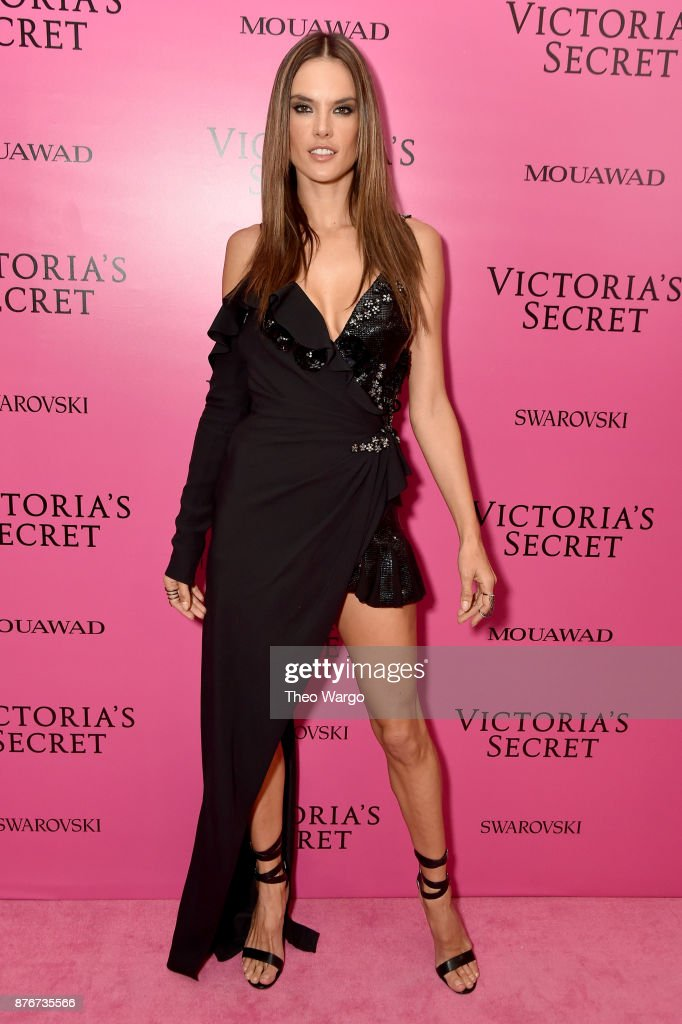 Alessandra Ambrosio attends the 2017 Victoria's Secret Fashion Show In Shanghai After Party at Mercedes-Benz Arena on November 20, 2017 in Shanghai, China.