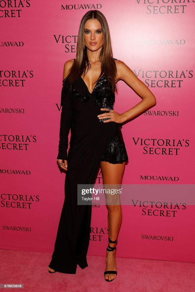 Alessandra Ambrosio attends the 2017 Victoria's Secret Fashion Show After Party on November 20, 2017 in Shanghai, China.