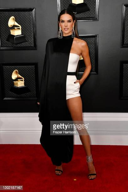 Alessandra Ambrosio attends the 62nd Annual GRAMMY Awards at STAPLES Center on January 26 2020 in Los Angeles California