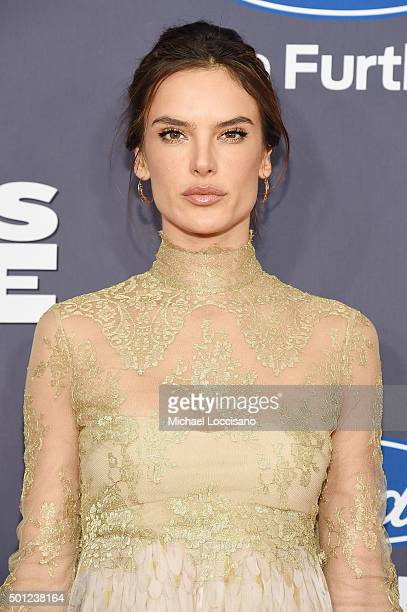 Alessandra Ambrosio attends the Daddy's Home New York premiere at AMC Lincoln Square Theater on December 13 2015 in New York City