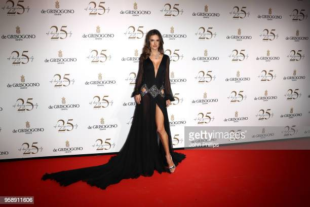 Alessandra Ambrosio attends the De Grisogono party during the 71st annual Cannes Film Festival at on May 15 2018 in Cap d'Antibes France