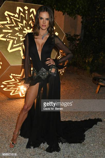 Alessandra Ambrosio attends the de Grisogono party during the 71st annual Cannes Film Festival at Villa des Oliviers on May 15 2018 in Cap d'Antibes...