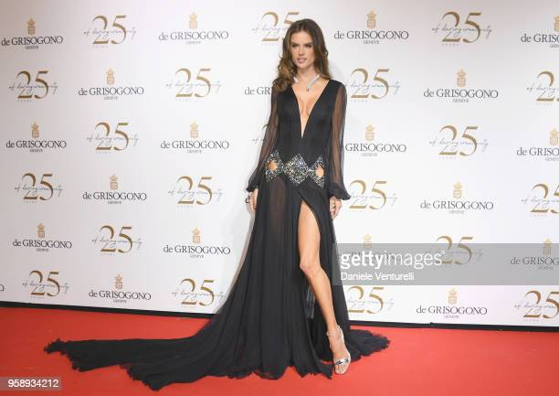 Alessandra Ambrosio attends the De Grisogono Party during the 71st annual Cannes Film Festival at on May 15 2018 in Antibes France