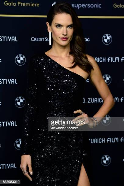 Alessandra Ambrosio attends the 'Dyson' premiere at the 13th Zurich Film Festival on September 30 2017 in Zurich Switzerland The Zurich Film Festival...