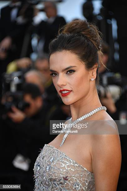 Alessandra Ambrosio attends 'The Last Face' Premiere during the 69th annual Cannes Film Festival at the Palais des Festivals on May 20 2016 in Cannes