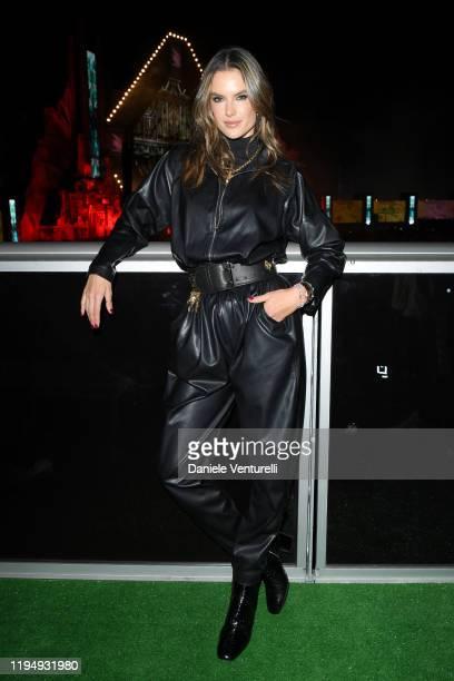 Alessandra Ambrosio attends the MDL Beast Festival on December 19, 2019 in Riyadh, Saudi Arabia.