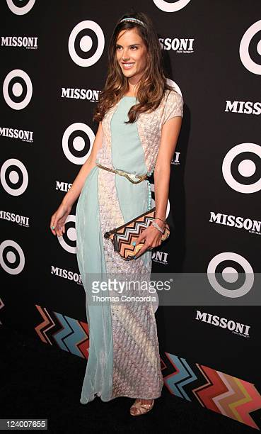 Alessandra Ambrosio attends the Missoni for Target Private Launch Event on September 7, 2011 in New York City.