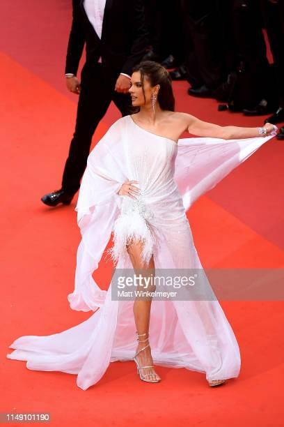 """Alessandra Ambrosio attends the opening ceremony and screening of """"The Dead Don't Die"""" during the 72nd annual Cannes Film Festival on May 14, 2019 in..."""
