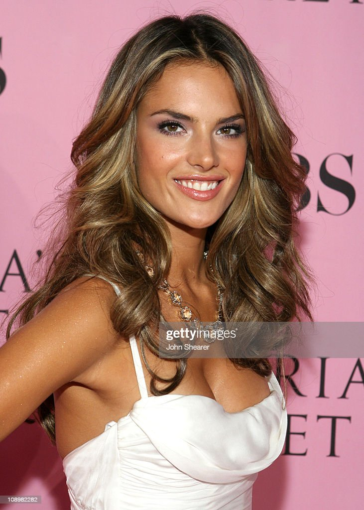 Alessandra Ambrosio during 11th Victoria's Secret Fashion Show - Pink Carpet at Kodak Theater in Hollywood, California, United States.