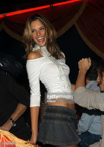 Alessandra Ambrosio during 9th Annual Victoria's Secret Fashion Show After Party at The New York State Armory in New York City New York United States
