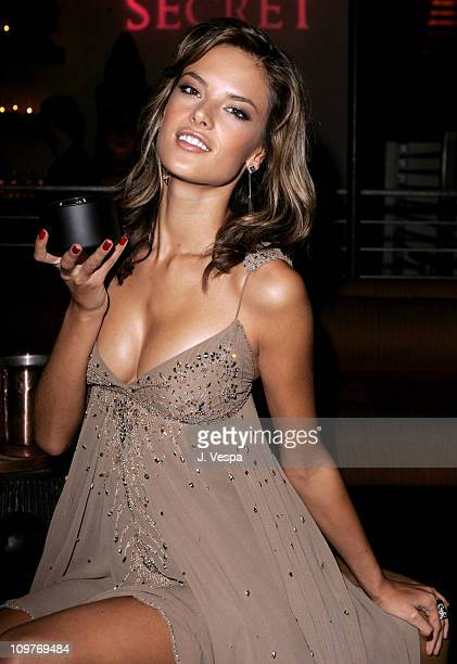Alessandra Ambrosio during Victoria's Secret Launches Mood Home Fragrance Collection Hosted by Tyra Banks and Alessandra Ambrosio at Mood in Los...