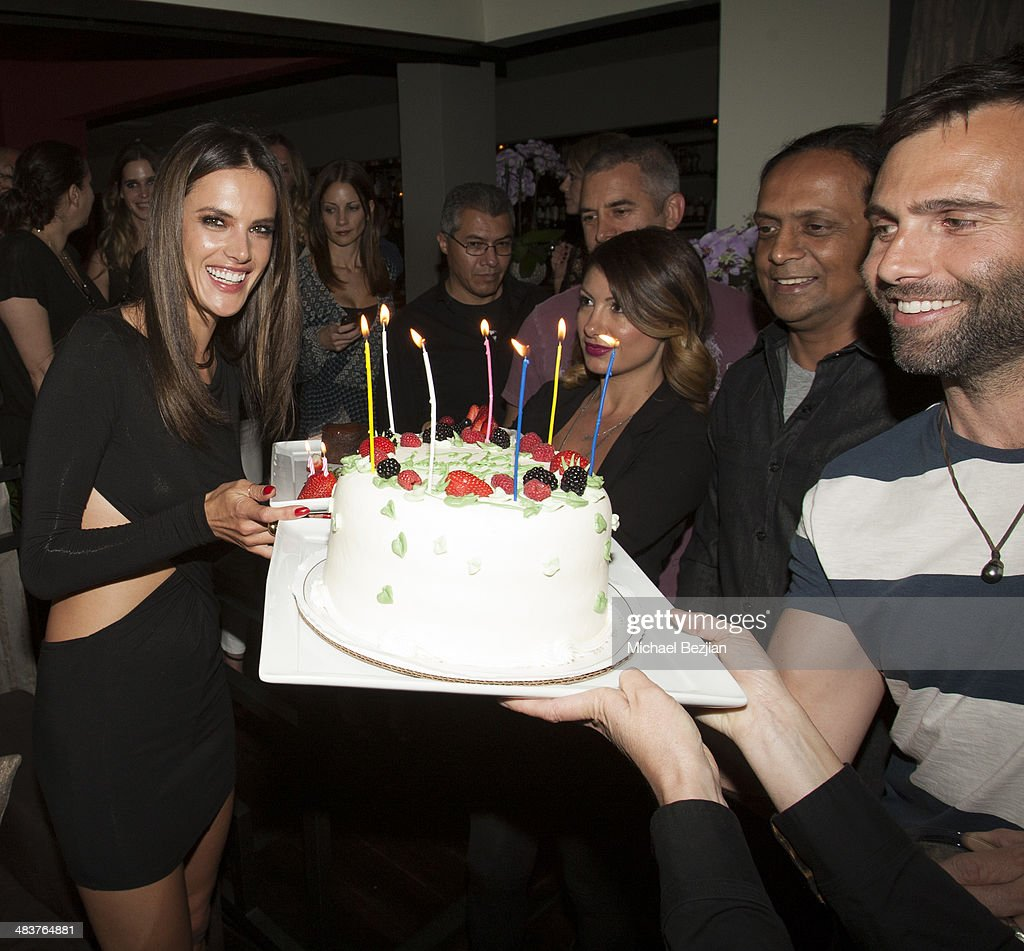 Alessandra Ambrosio's Birthday Party at Koi : News Photo