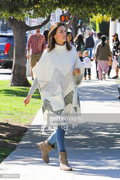 Alessandra Ambrosio is seen on February 03 2016 in Los Angeles California