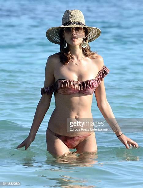 Alessandra Ambrosio is seen on July 2 2016 in Ibiza Spain