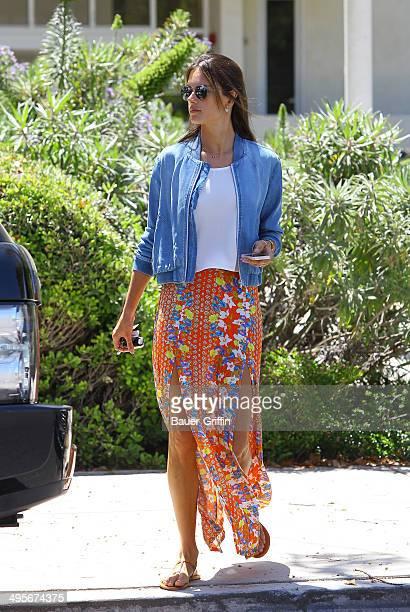 Alessandra Ambrosio is seen on June 04 2014 in Los Angeles California