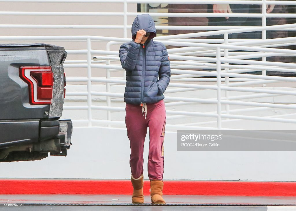 Celebrity Sightings In Los Angeles - March 02, 2018 : News Photo