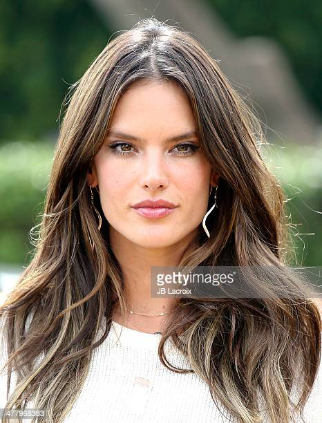 Alessandra Ambrosio is seen on March 11 2014 in Los Angeles California
