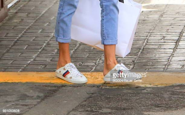 Alessandra Ambrosio is seen on March 12 2018 in Los Angeles California