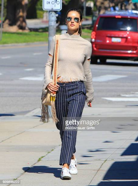 Alessandra Ambrosio is seen on March 29 2018 in Los Angeles California