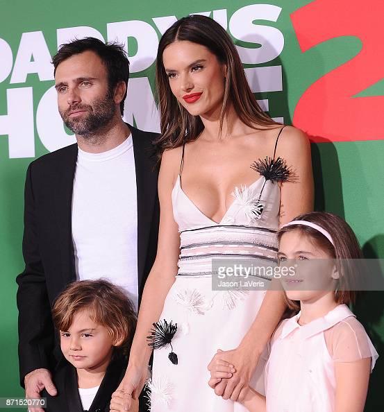 Alessandra Ambrosio Jamie Mazur And Children Noah Phoenix Ambrosio