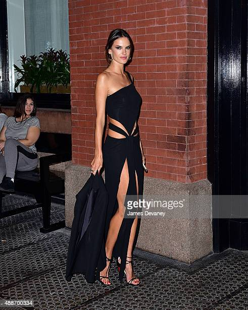 Alessandra Ambrosio seen on the streets of Manhattan on September 16 2015 in New York City