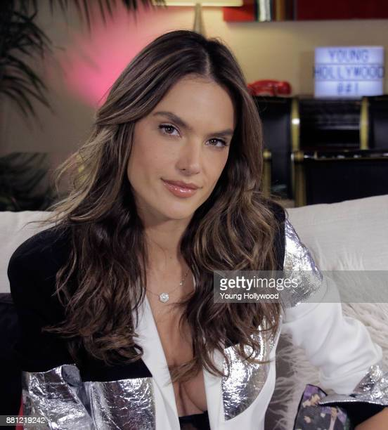 Alessandra Ambrosio visits the Young Hollywood Studio on November 28 2017 in Los Angeles California
