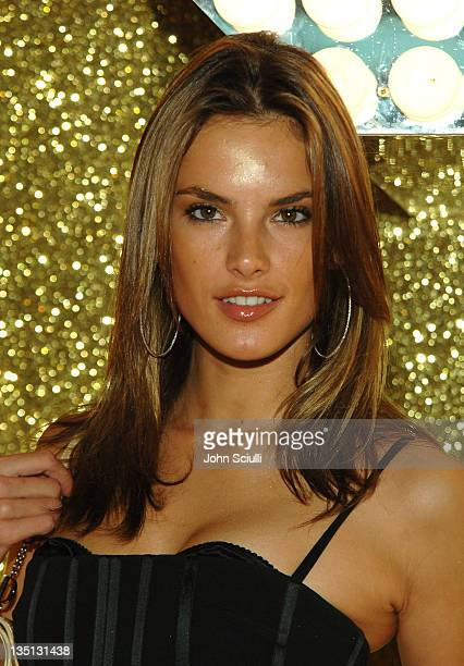 Alessandra Ambrosio wearing Dolce Gabbana during 2006 Cannes Film Festival Dolce Gabbana Party at Hotel Martinez in Cannes France