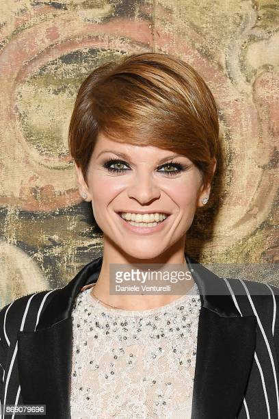 Alessandra Amoroso attends Doppia Difesa Gala during the 12th Rome Film Fest at Hotel Bernini Bristol on November 1 2017 in Rome Italy