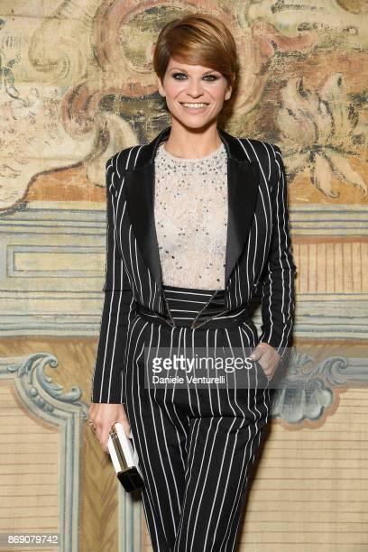 Alessandra Amoroso attends Doppia Difesa Gala during the 12th Rome Film Fest at Hotel Bernini Bristol on November 1 2017 in Rome Italy
